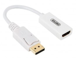 Adapter DisplayPort - HDMI 4K; Y-6332 BIAŁY