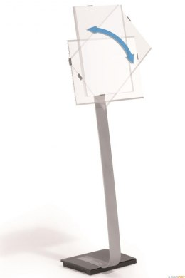 INFO SIGN stand A3 tablica informacyjna A3 Sr ebrny 481323 DURABLE